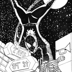Spiderman by E.Campbell 8-24-12 inked