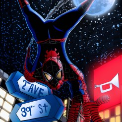 Spiderman by E.Campbell 8-24-12 colored